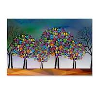 Mark Ashkenazi 'Mark Tree' Canvas Art
