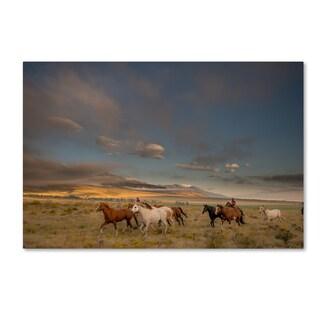 Dan Ballard 'Sunday Ride' Canvas Art