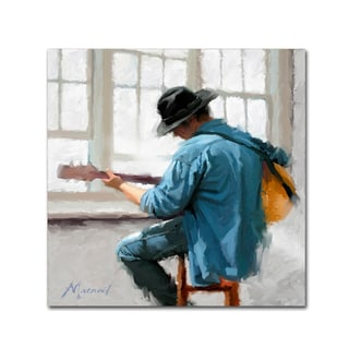 The Macneil Studio 'Guitar Player' Canvas Art