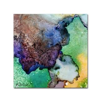 Jennifer Redstreake 'Purples Intermixed' Canvas Art
