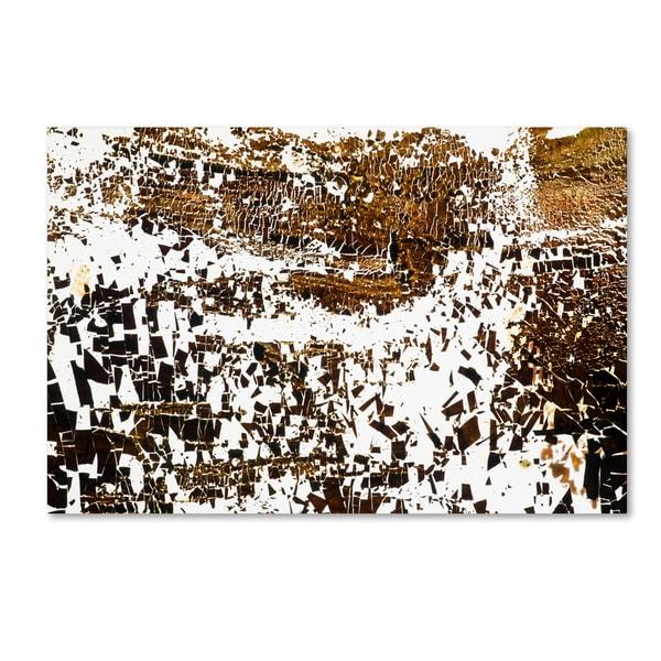 Kika Pierides 'NA 2 (Everybody Run!)' Canvas Art