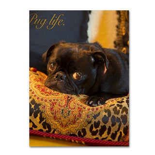 Gifty Idea Greeting Cards and Such! 'Pug Life' Canvas Art