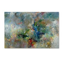 Jane Deakin 'Valley of the Waterfalls' Canvas Art