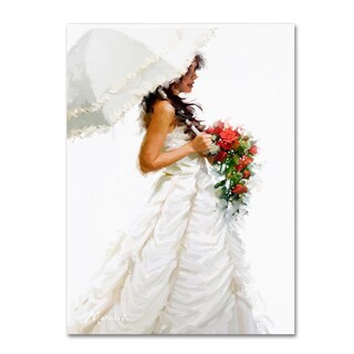 The Macneil Studio 'Bride Umbrella' Canvas Art