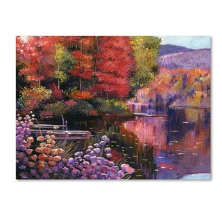 David Lloyd Glover 'Reflections of a Perfect Moment' Canvas Art