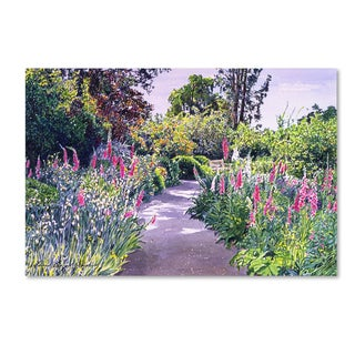 David Lloyd Glover 'Garden Walk' Canvas Art