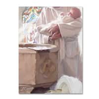 The Macneil Studio 'Christening' Canvas Art