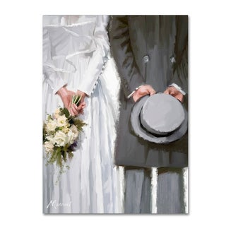 The Macneil Studio 'Bride and Groom' Canvas Art
