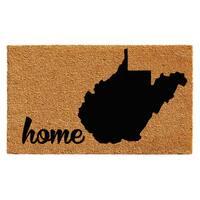 """West Virginia Doormat (24"""" x 36"""")"""