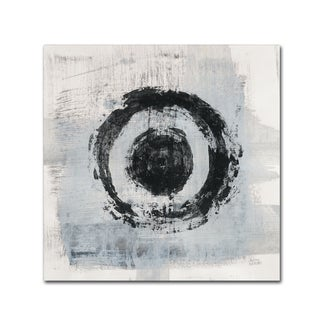 Melissa Averinos 'Zen Circle II Crop' Canvas Art