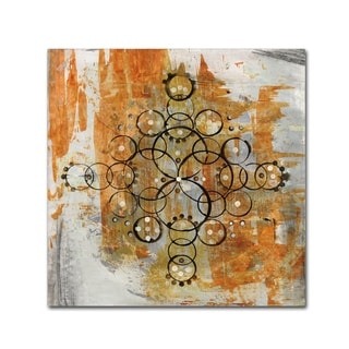 Melissa Averinos 'Mandala II Crop' Canvas Art