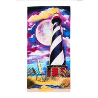 De Moocci Light House Printed Beach Towel