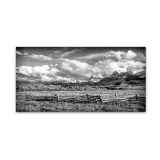 Dan Ballard 'Colorado Fields' Canvas Art