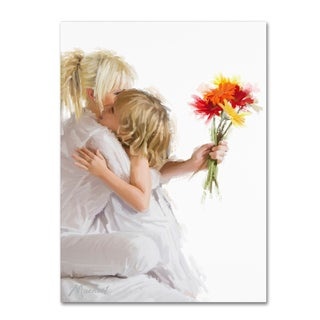 The Macneil Studio 'Mother and Daughter' Canvas Art