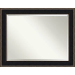 Wall Mirror Oversize Large, Mezzanine Espresso 48 x 38-inch - Brown/black/bronze - oversize large - 48 x 38-inch