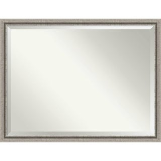 Wall Mirror Oversize Large, Bel Volto Silver 43 x 33-inch