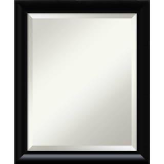 Wall Mirror Medium, Steinway Black Scoop 19 x 23-inch