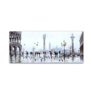 The Macneil Studio 'Piazza San Marco' Canvas Art
