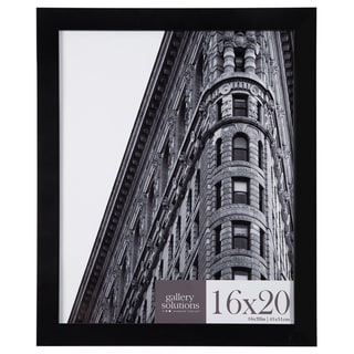 Black Flat Large Wall Frame