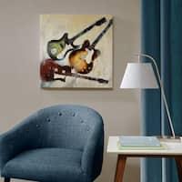 Madison Park 3 Guitars Multi Gel Coat Canvas