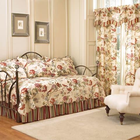 Waverly Charleston Chirp Cotton 5-Piece Daybed Set