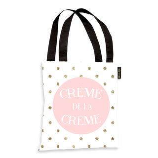 Oliver Gal 'The Best In Polka Dots' Tote Bag
