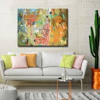 'Life in Color' Ready2HangArt Canvas by Dana McMillan