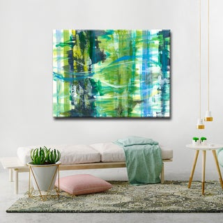 'Calming Chaos' Ready2HangArt Canvas by Dana McMillan