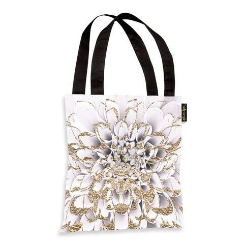Oliver Gal Floralia Blanc Tote Bag