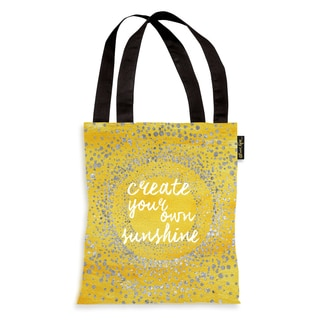 Oliver Gal 'Your Own Sunshine' Tote Bag