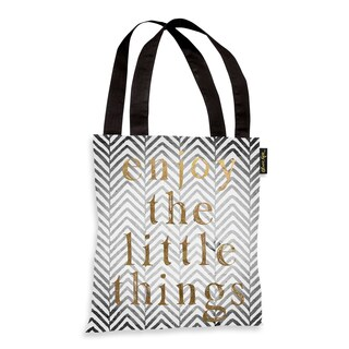 Oliver Gal 'Enjoy The Little Things' Tote Bag