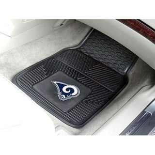 NFL - Los Angeles Rams 2-pc Vinyl Car Mats 17x27