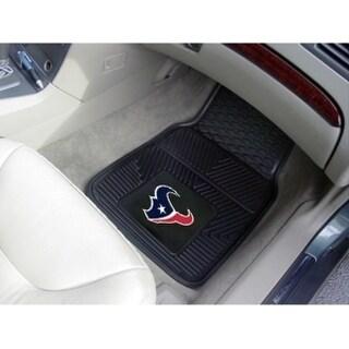 NFL - Houston Texans 2-pc Vinyl Car Mats 17x27
