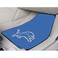 "NFL - Detroit Lions 2-pc Carpeted Car Mats 17""x27"""