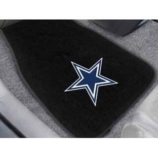 "NFL - Dallas Cowboys 2-pc Embroidered Car Mats 18""x27"""