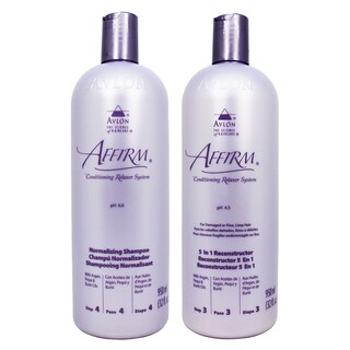 Avlon Affirm 32-ounce Normalizing Shampoo & 5-in-1 Reconstructor Set
