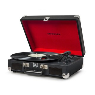 Cruiser Deluxe Bluetooth Turntable- Black