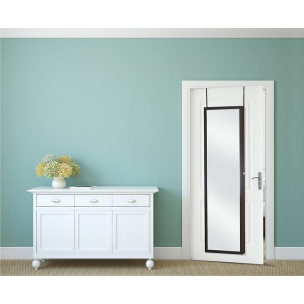 Mirror-style Over-the-door Super Size Jewelry Armoire