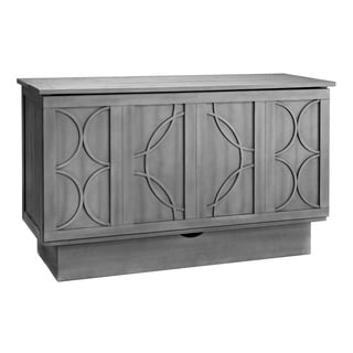 Bristol Grey Cabinet Bed with Mattress
