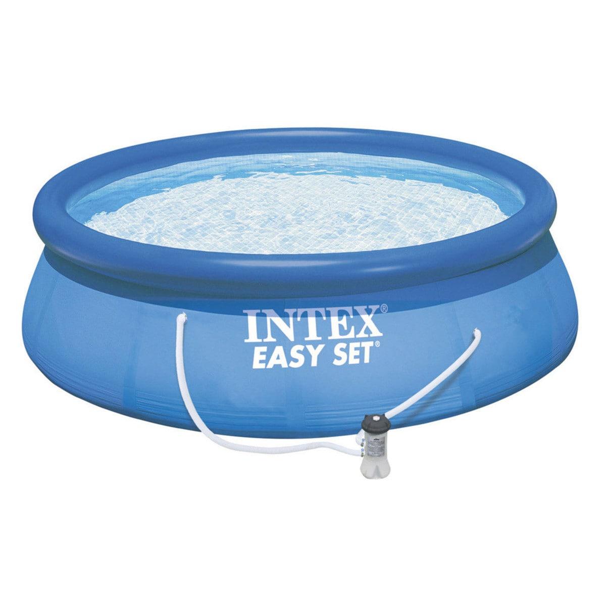 "Intex Recreation 15' x 33"" Easy Set Pool (Blue) Set (As I..."