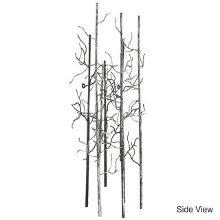 Varaluz Casa Large Birch Steel Black/White/Gray Wall Art
