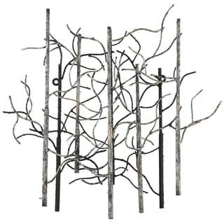 Varaluz Casa Small Birch Steel Black/White/Gray Wall Art