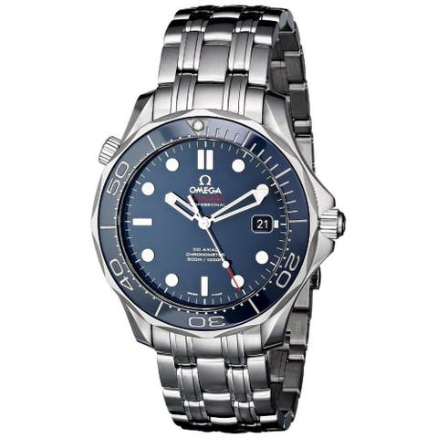 Omega Men's O21230412003001 'Seamaster' Automatic Stainless Steel Watch