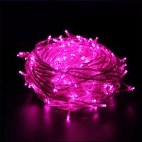 100 LED String Light w/ connector - Pink
