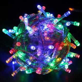 100 LED String Light w/ connector - Multicolor