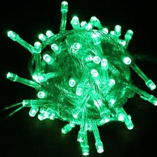 100 LED Green 32 ft. String Light with Connector