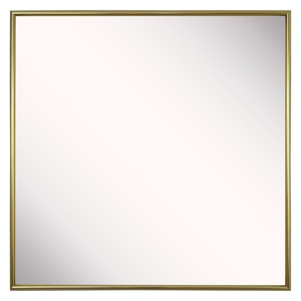 American Made Rayne Tango Polished Gold Wall Mirror