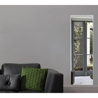 American Made Rayne Echo Polished Silver Wall Mirror