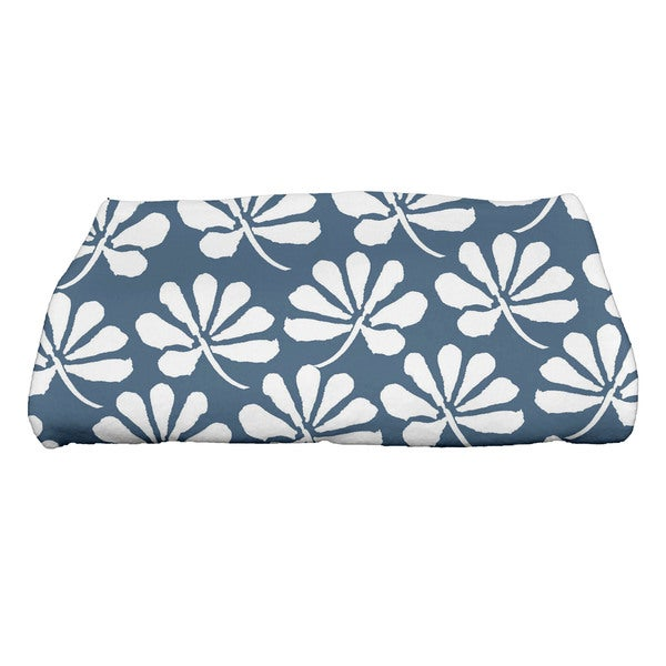 Ingrid Floral Print Bath Towel