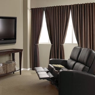 Absolute Zero Velvet Blackout Home Theater Curtain Panel